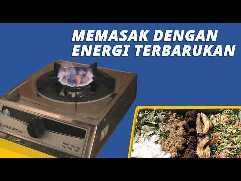 Memanfaatkan Sampah menjadi Bio Gas.