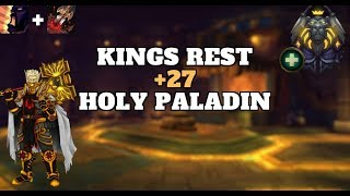 Kings Rest +27 Bolstering - Holy Paladin PoV