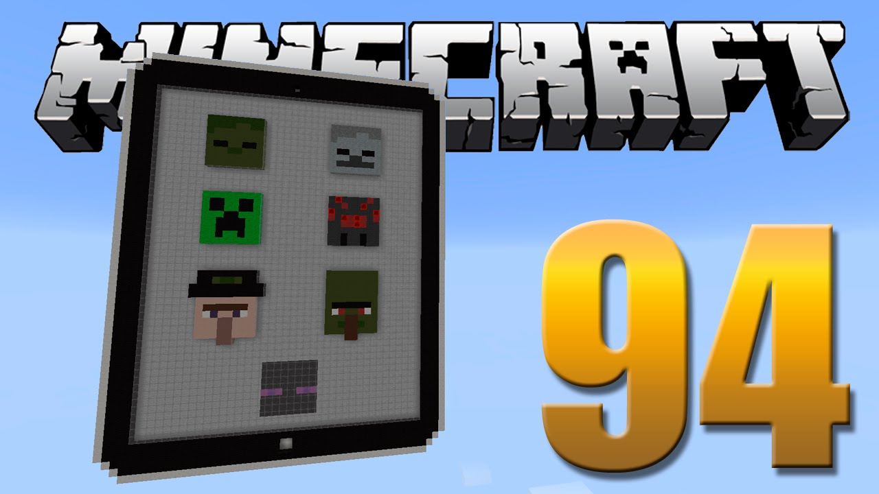 how to make a ipad in minecraft