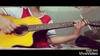 Hồi ức ngày hôm qua - Hoàng Yến chibi _ guitar cover