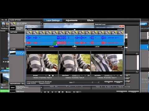 Hướng dẫn cắt ghép video bằng Proshow Producer 6.0