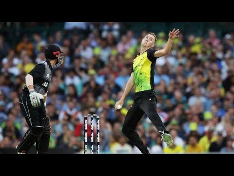 Black Caps new fast bowling sensation Billy Stanlake with blistering 150kmh deliveries