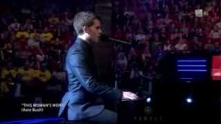 "The Voice Norge 2013 - Kristian Kristensen - ""This womans work"""