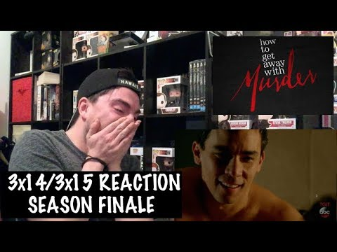 HOW TO GET AWAY WITH MURDER - 3x14/3x15 'HE MADE A TERRIBLE MISTAKE/WES' REACTION