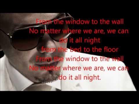 """""""Pitbull Feat David Rush  -- All Night Lyric  [2013 NEW SONG]"""""""