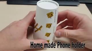 home to make phone camera holder (4K)