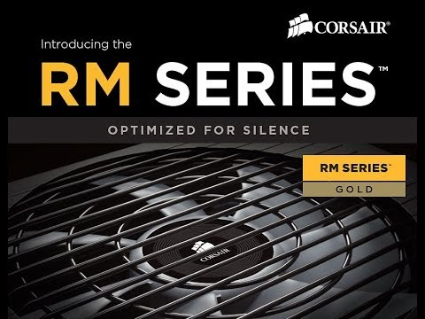 Бесшумные Блоки питания Corsair RM Series