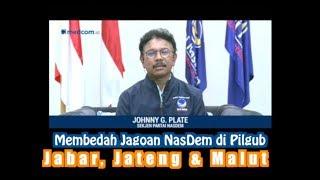 Membedah Jagoan NasDem di Pilgub Jabar, Jateng dan Malut