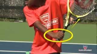 10 and under tennis videos  60 orange backhand technique