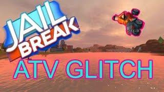 CRAZY JAILBREAK FLYING ATV GLITCH! | Jailbreak Roblox