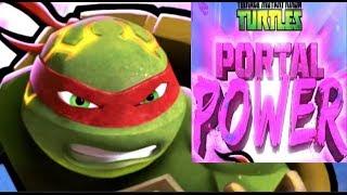 Сила порталов Черепашки Ниндзя #6 ЛАВОВЫЙ МИР мультик игра о черепашках TMNT Portal Power