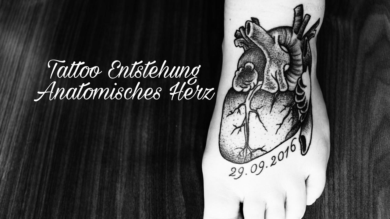 tattoo entstehung anatomisches herz lisa 39 s beautyecke. Black Bedroom Furniture Sets. Home Design Ideas