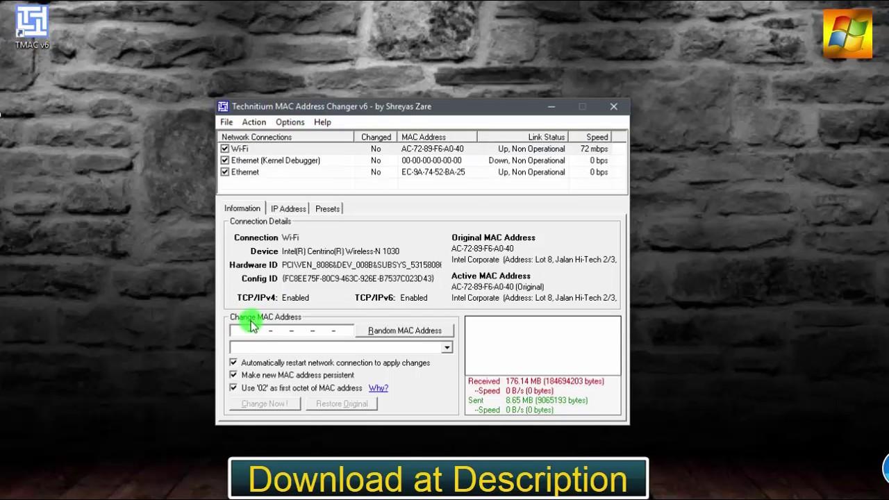 Mac spoofer download