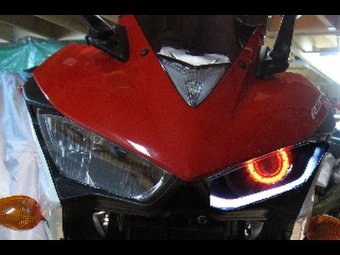 How To Convert Stock Headlight To Halo Projector Headlight