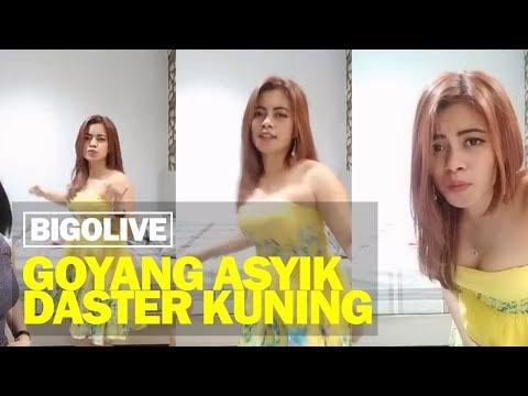 Bigo Live Goyang Asyik Cewek Daster Kuning