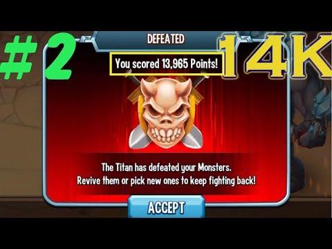😱Monster Legends - Titan Invasion Tips Igneus Cryotan Krugbo boss combat get more score