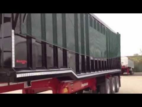 Newton trailers limited steel body tipping trailer