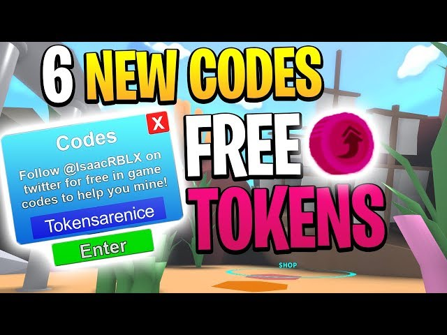 This Code Will Make You Rich In Roblox Mining Simulator 6 New Roblox Mining Simulator Codes Free Rebirth Tokens Youtube
