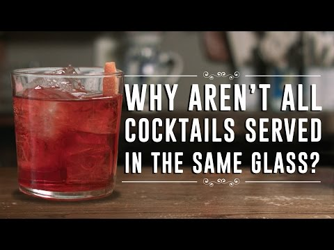 Why Aren't All Cocktails Served in the Same Glass?