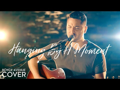 Music video Boyce Avenue - Hanging by a Moment