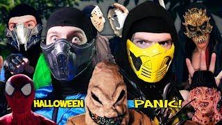 Real Mortal Kombat: Halloween Panic! | MKX PARODY!