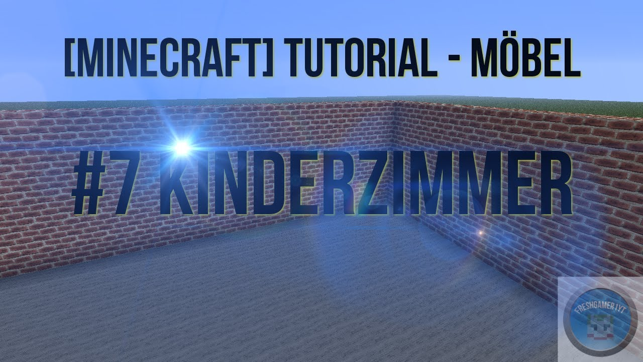 minecraft tutorial m bel 7 kinderzimmer youtube. Black Bedroom Furniture Sets. Home Design Ideas