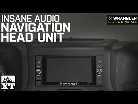 Jeep Wrangler JK Insane Audio Navigation Head Unit (2007-2018) Review & Install