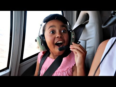 Thumbnail: Toys AndMe Helicopter Ride Over The Grand Canyon - Family Fun Video