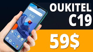 Oukitel С19 Смартфон с Android 10 Go за $59