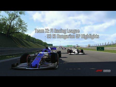 Team XI: F1 Racing League - Fantasy League S3 R1 Hungarian GP Highlights |