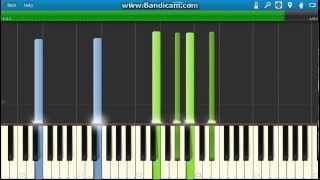 Coldplay - Atlas - Piano Tutorial - How to play Atlas on piano