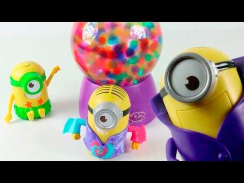 Orbeez lampara y juguetes de los minions