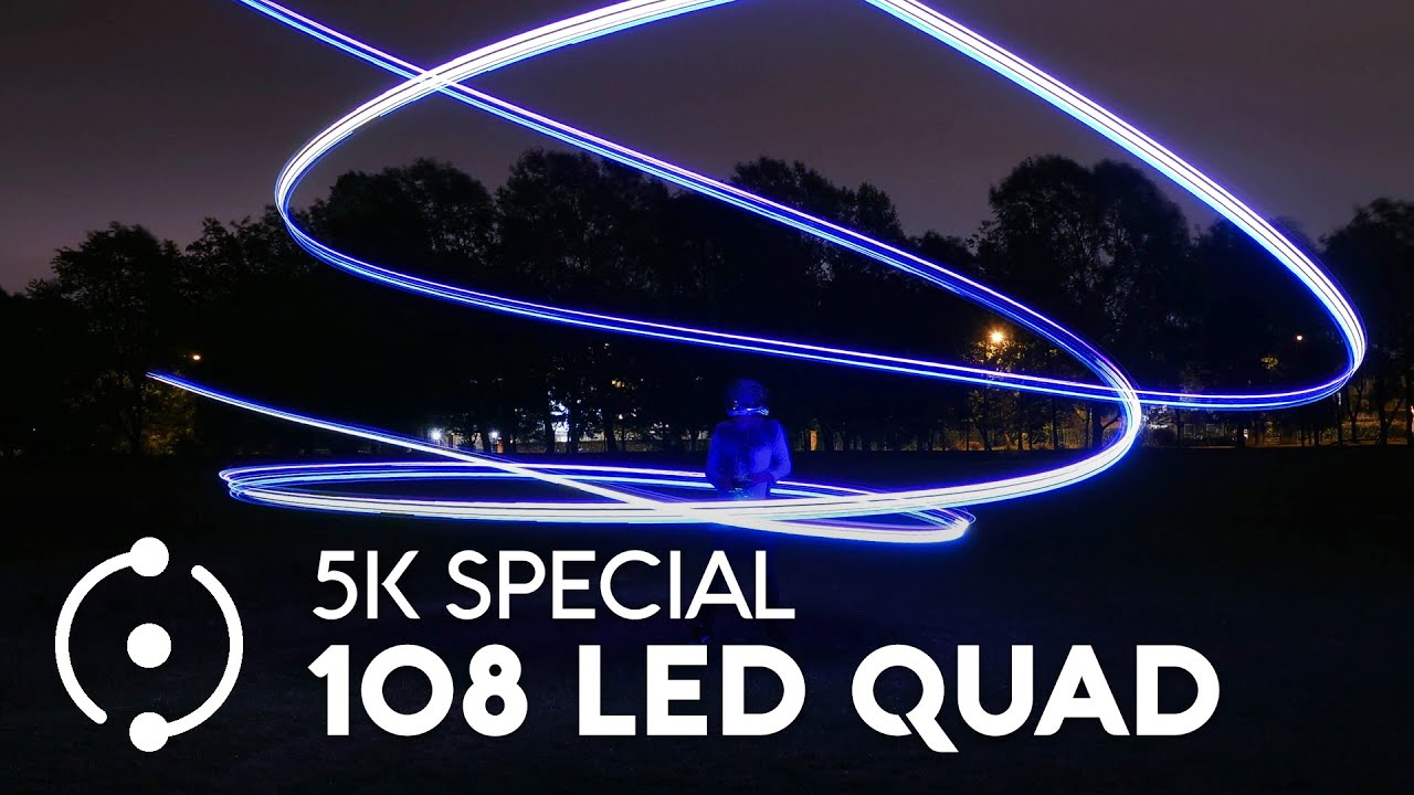 5,000 Subscriber Special - 108 LEDS on a Quad (GIVEAWAYS ARE BACK!)