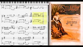 Solace - Mexican Serenade by Scott Joplin (1909, Ragtime piano)