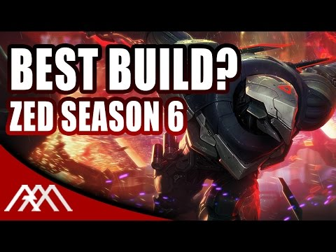 Best Season 6 Zed Build - League of Legends