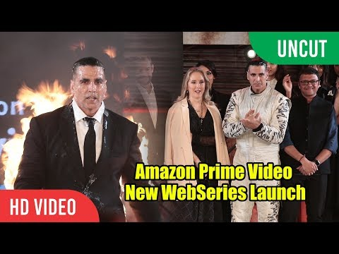 Amazon Prime Video | Akshay Kumar Upcoming Web Series Launch | Full Event Mp3