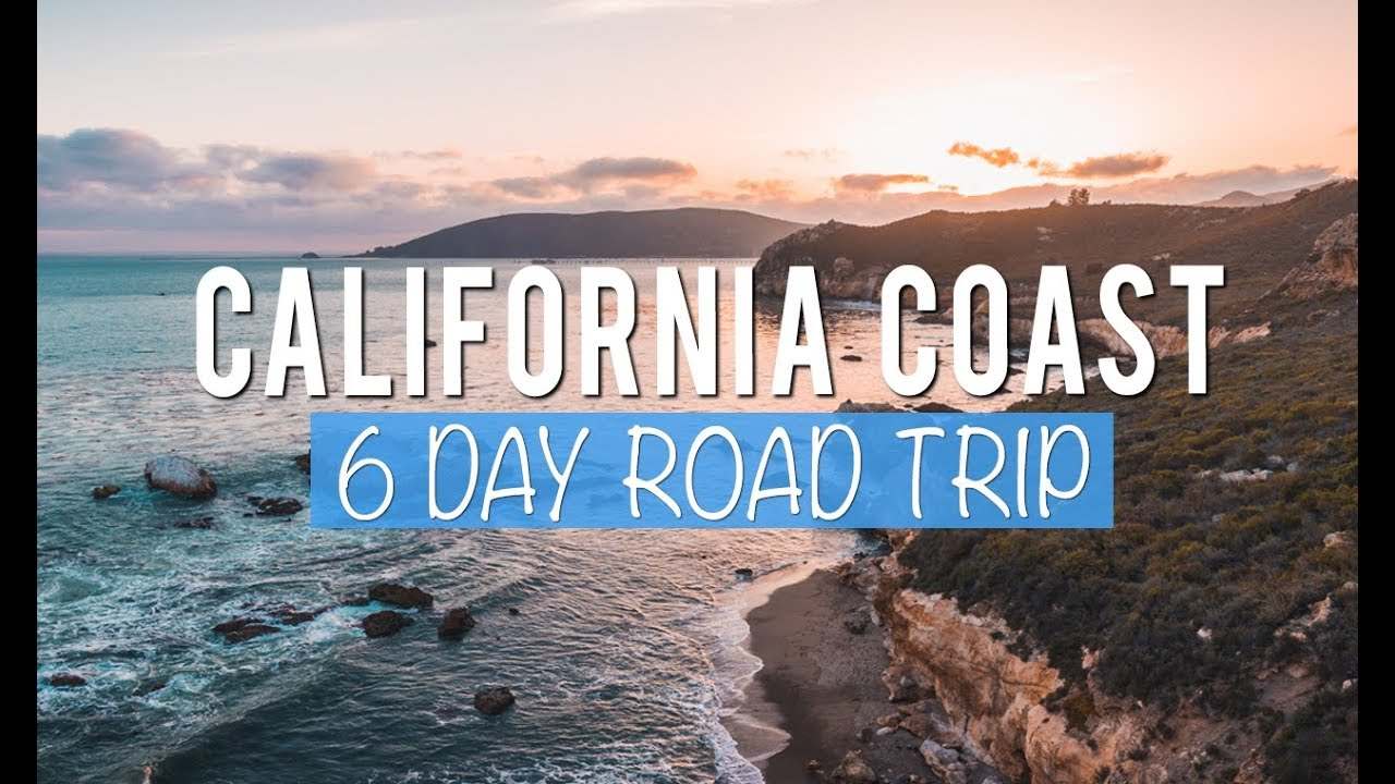 california road trip: 6 days exploring the central coast - youtube