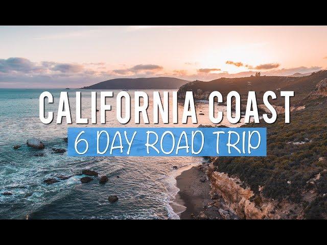 California Road Trip: 6 Days Exploring the Central Coast