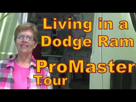 Carolyn Living in a Dodge Ram ProMasterTour
