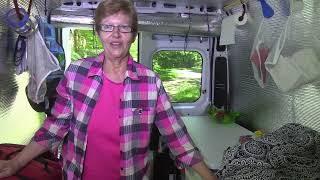 Carolyn Living in a Dodge Ram ProMaster--Tour thumbnail