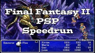 Final Fantasy II (PSP) Speedrun (RTA)