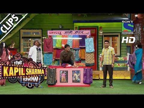 Kapil Ki Saree Ki Dukan- The Kapil Sharma Show -Episode 21 - 2nd July 2016