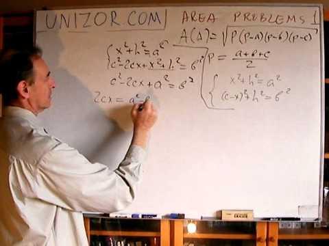 Unizor - Geometry2D - Area - Problems 1