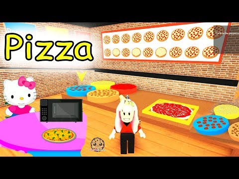 Thumbnail: Cashier Work at a Pizza Place Restaurant Roblox - Let's Play Online Games