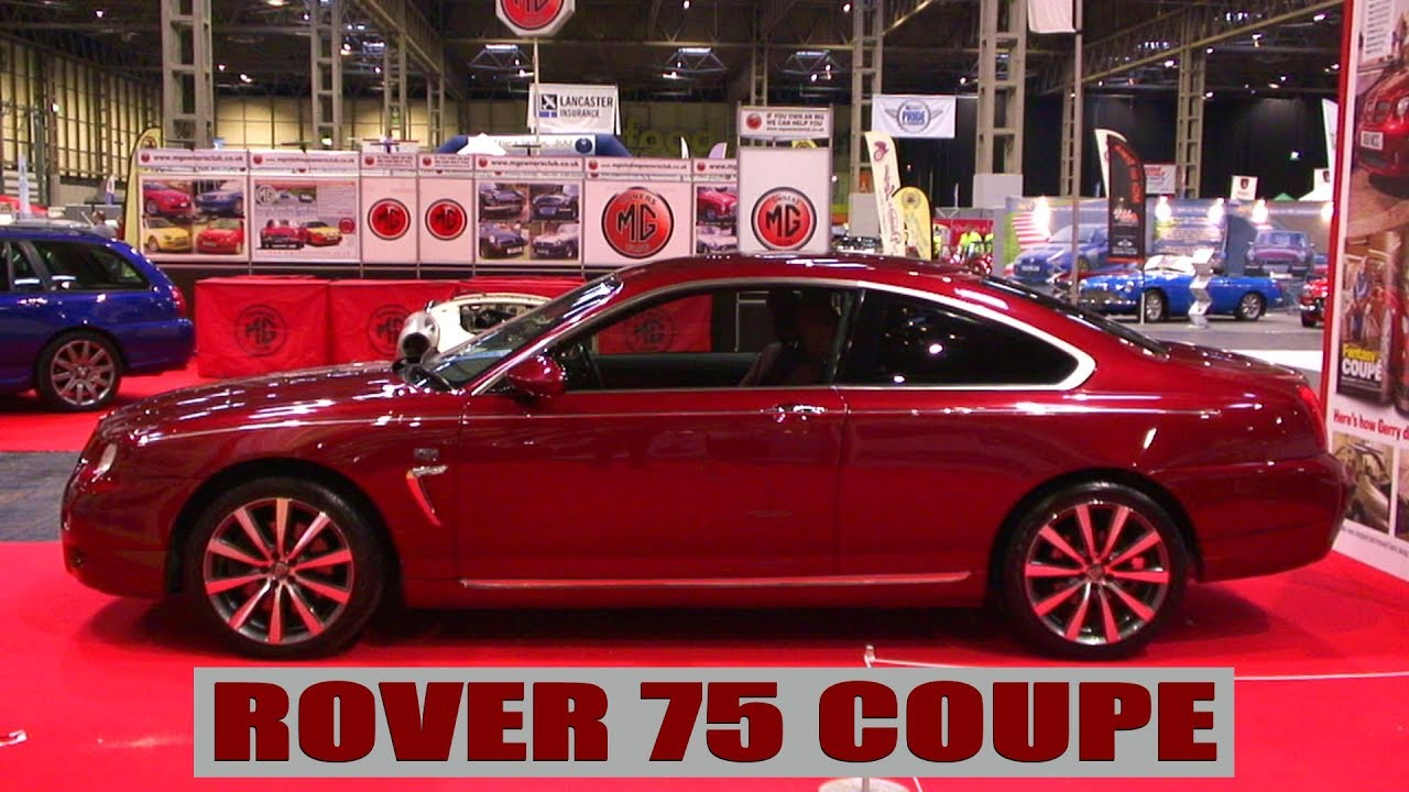 rover 75 coupe youtube. Black Bedroom Furniture Sets. Home Design Ideas