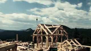 Как построить каркасный дом своими руками(Как построить деревянный каркасный дом из бруса своими руками. Видео отчёт о строительстве одноэтажного..., 2015-05-31T14:30:05.000Z)