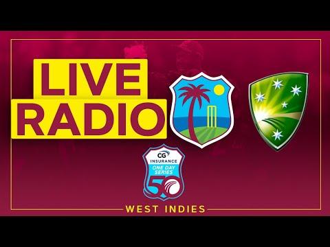 🔴LIVE RADIO | West Indies v Australia | 1st CG Insurance ODI