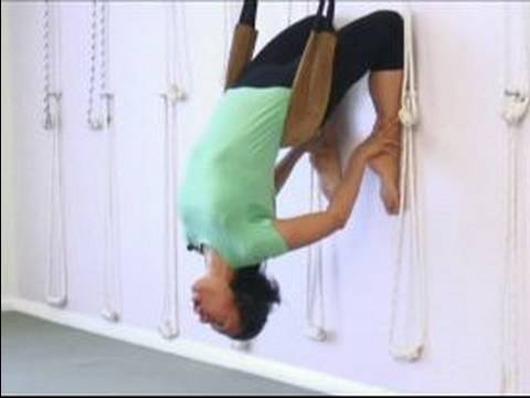 advanced yoga poses  wall ropes for yoga stretches  youtube