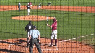 Trick-play pickoff move to end the baseball game