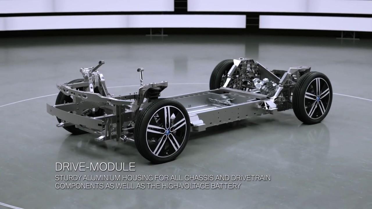 Bmw Electric Car Animation Youtube